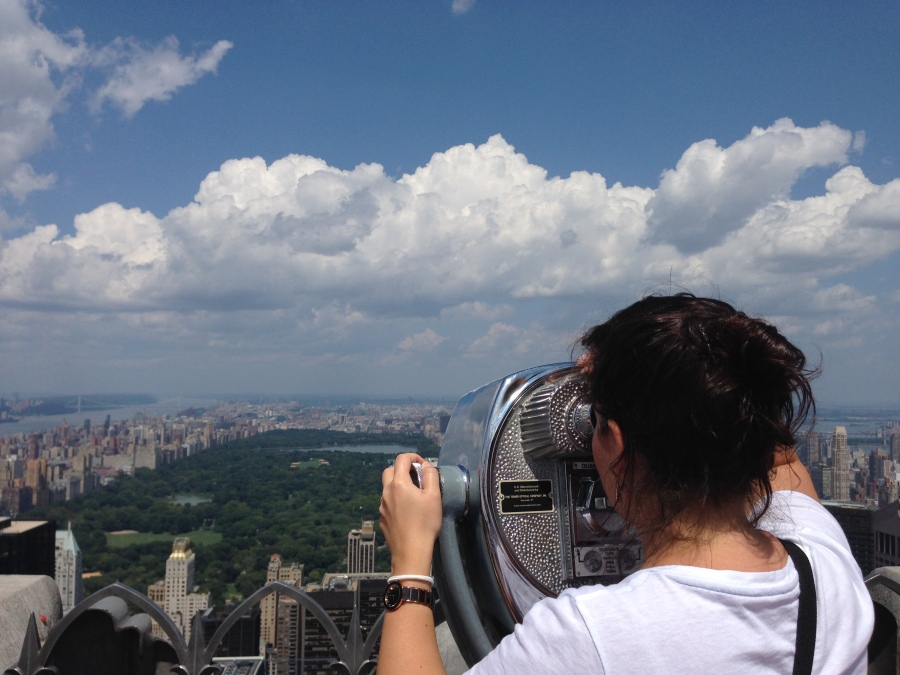 Top of the Rock'tan Central Park'a