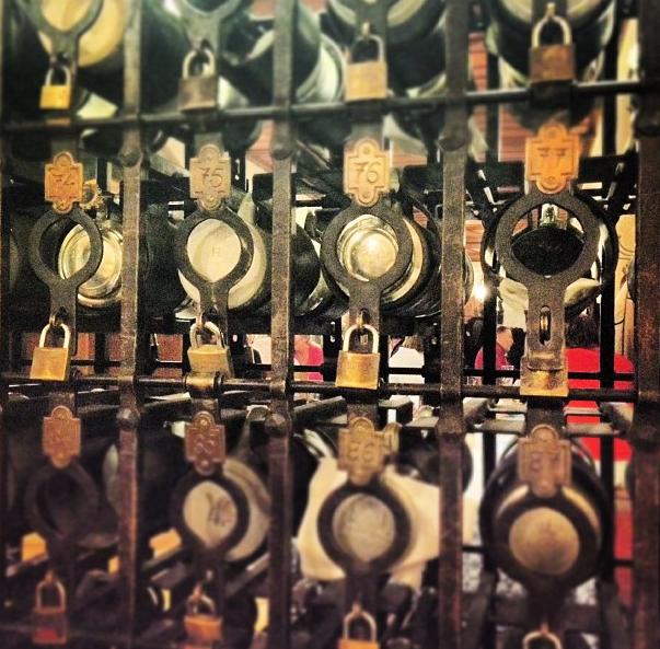 Kilitli bira bardakları