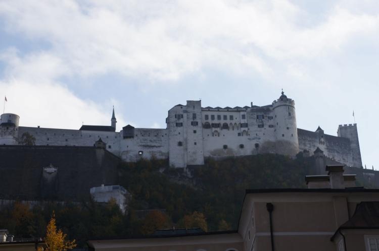 Meydandan Hohensalzburg Fortress