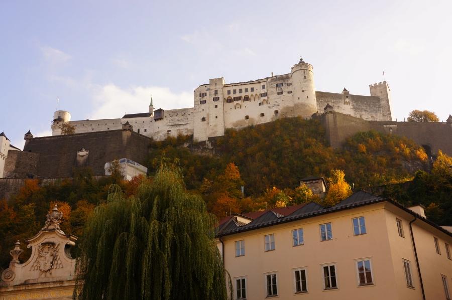 Fünikülerden Hohensalzburg Fortress