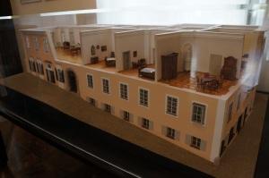 Mozart'ın Yaşadığı evin maketi