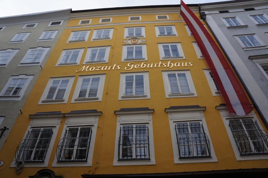 Mozart'ın doğduğu ev