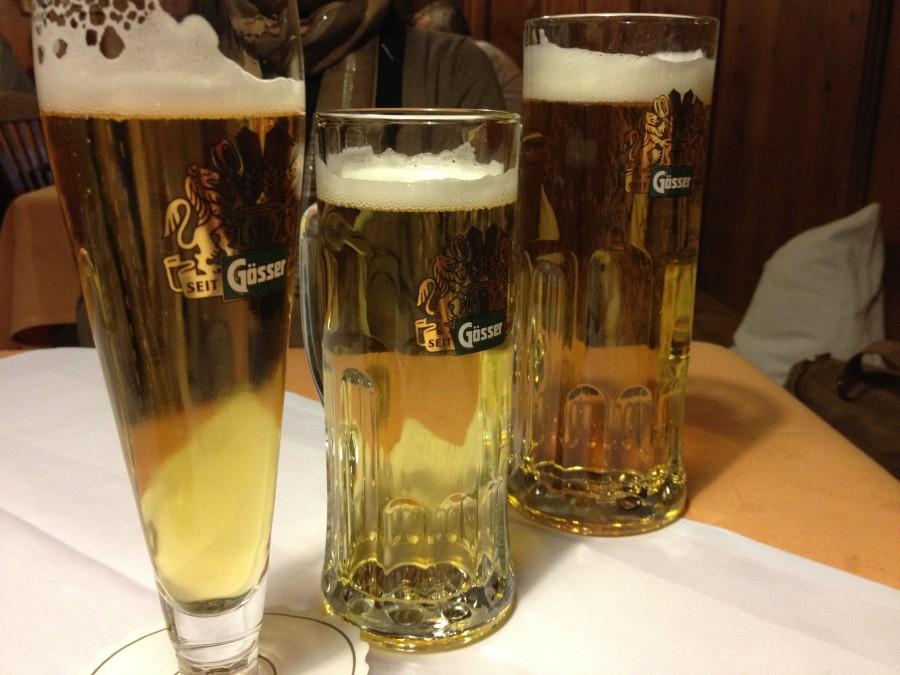 Innsbruck'taki biralarımız