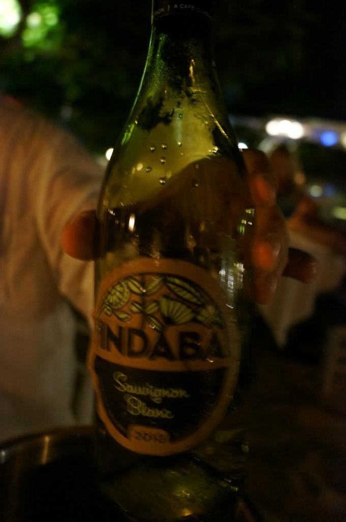 İkram olan Indaba şarabımız