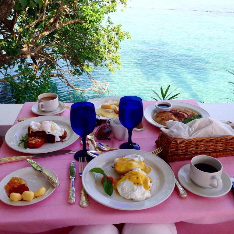 Denize nazır kahvaltımız