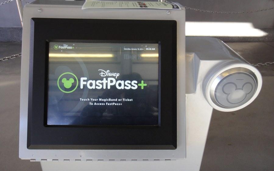 Fastpass Kiosk'u