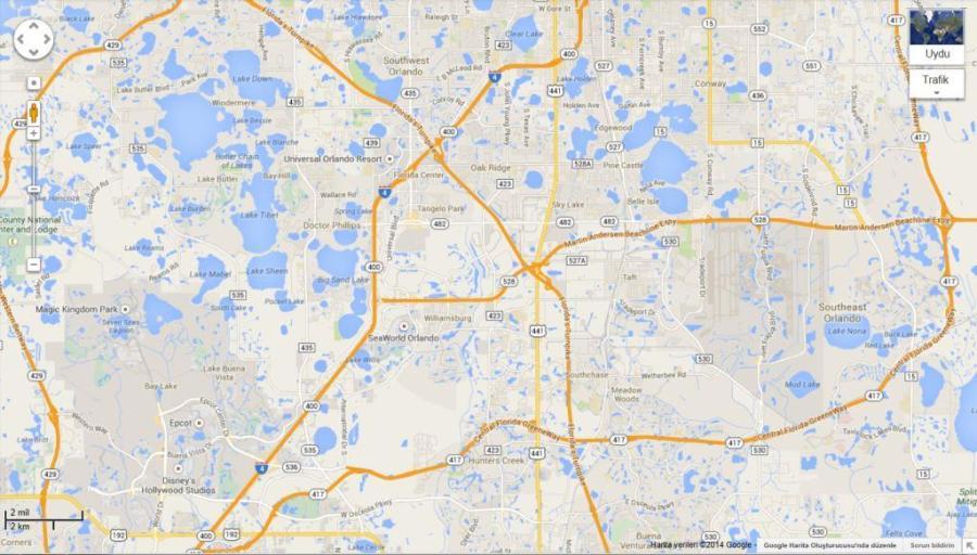 Orlando Haritası