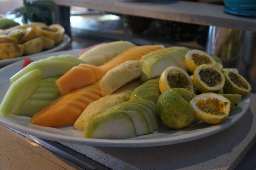 Yanar döner meyve tabağı :)