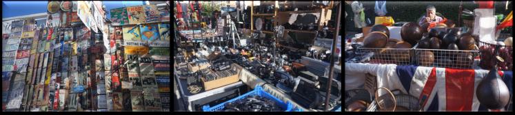 Portobello Pazarı Antikaları