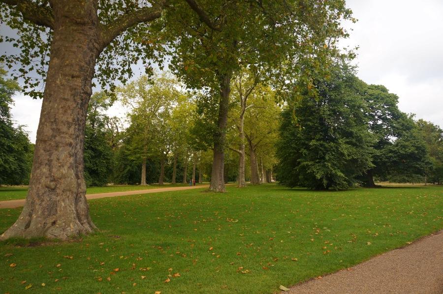 Hyde Park'tan bir köşe