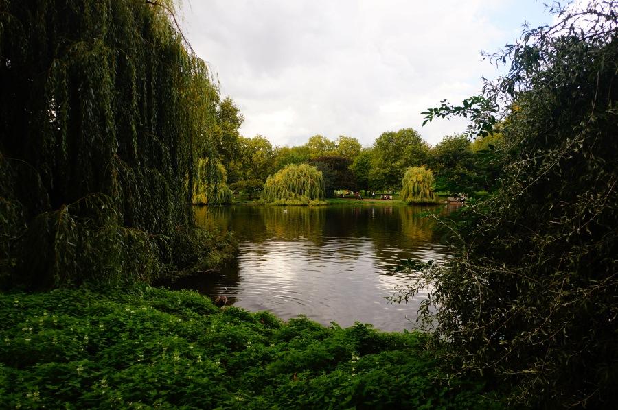 Romantik St James Parkı